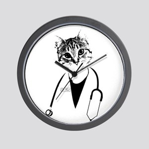 Dr. Cat Wall Clock