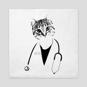 Dr. Cat Queen Duvet