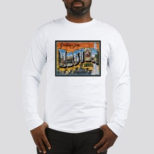 Greetings from Boston Long Sleeve T-Shirt