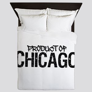 Product Of Chicago, Il! Queen Duvet