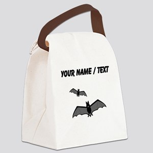 Custom Bats Canvas Lunch Bag