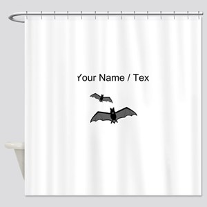 Custom Bats Shower Curtain
