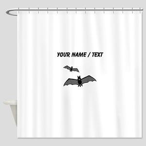 Custom Bats Shower Curtain