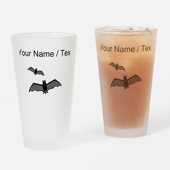 Custom Bats Drinking Glass
