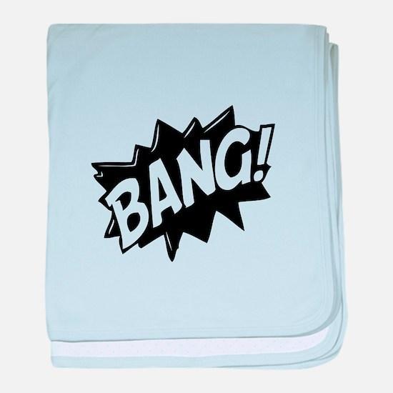 Bang baby blanket