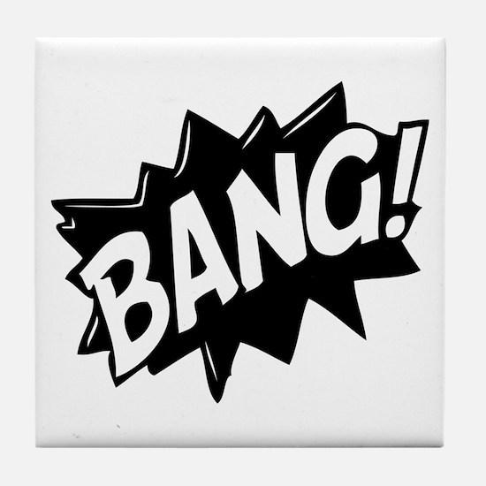 Bang Tile Coaster