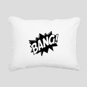 Bang Rectangular Canvas Pillow