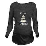 Cake Artiste Long Sleeve Maternity T-Shirt