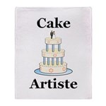 Cake Artiste Throw Blanket
