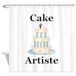 Cake Artiste Shower Curtain