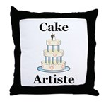 Cake Artiste Throw Pillow