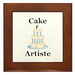 Cake Artiste Framed Tile