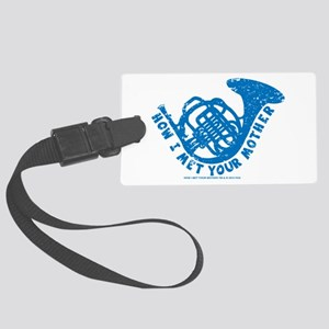 HIMYM French Horn Large Luggage Tag