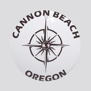 Oregon - Cannon Beach Round Ornament