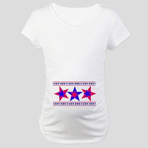 California 2-tone Patriot  Maternity T-Shirt