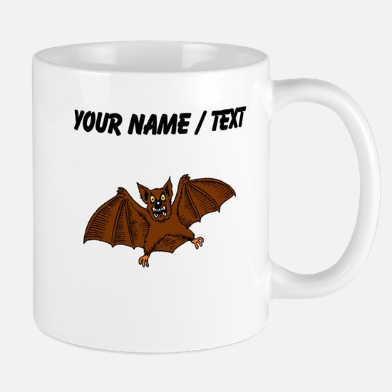 Custom Brown Bat Mugs