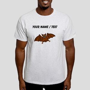 Custom Brown Bat T-Shirt