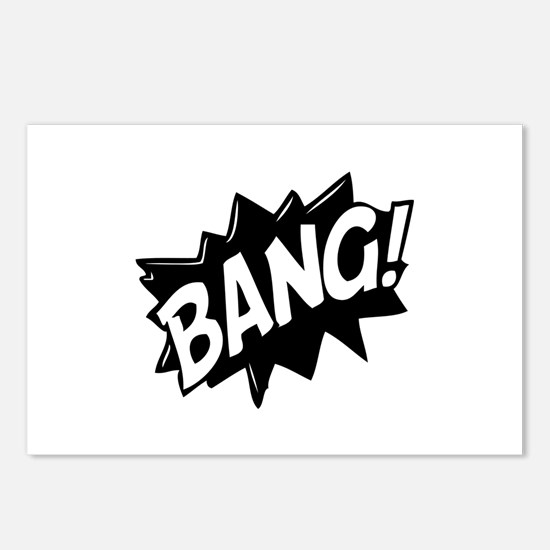 Bang Postcards (Package of 8)