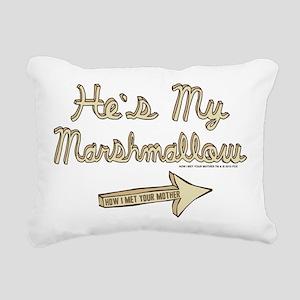 HIMYM Marshmallow Rectangular Canvas Pillow