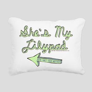 HIMYM Lilypad Rectangular Canvas Pillow