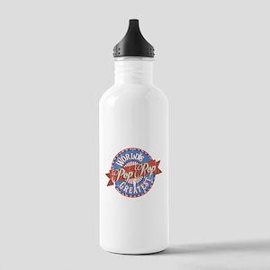 World's Greatest PopPo Stainless Water Bottle 1.0L