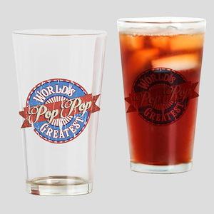 World's Greatest PopPop Drinking Glass