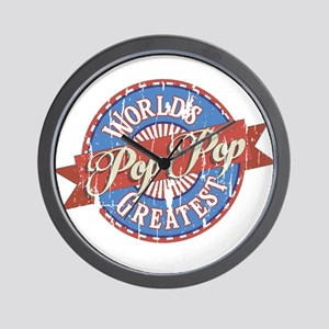 World's Greatest PopPop Wall Clock