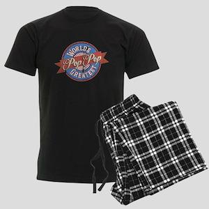 World's Greatest PopPop Men's Dark Pajamas