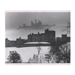 Castle in the air Throw Blanket