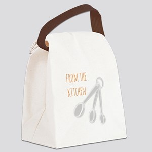 From the Kitchen Canvas Lunch Bag