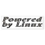 Powered by Linux - Sticker (Bumper 10 pk)
