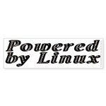 Powered by Linux - Sticker (Bumper 50 pk)