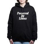 Powered by Linux - Women's Hooded Sweatshirt