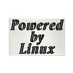 Powered by Linux - Rectangle Magnet (100 pack)