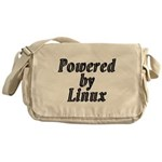 Powered by Linux - Messenger Bag