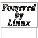 Powered by Linux - Yard Sign