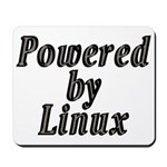 Powered by Linux - Mousepad