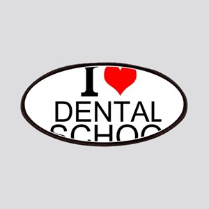 I Love Dental School Patches