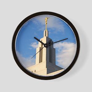Mormon Draper Utah Temple Wall Clock