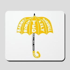 HIMYM Umbrella Mousepad