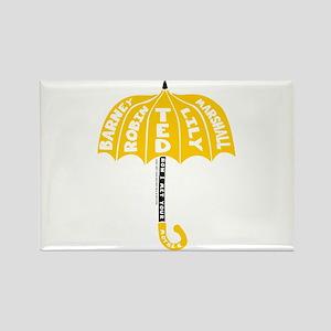 HIMYM Umbrella Rectangle Magnet