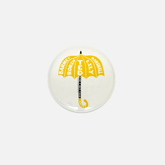 HIMYM Umbrella Mini Button