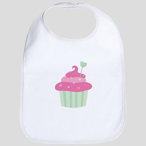 Valentine Cupcake Bib