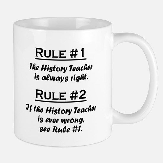 Cute Teachers rule Mug