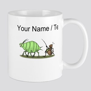 Custom Ant Hearding Aphid Mugs