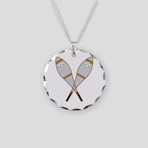 Snow Shoes Necklace