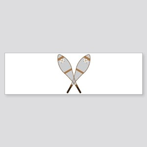 Snow Shoes Bumper Sticker