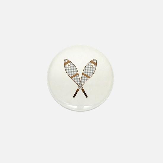 Snow Shoes Mini Button