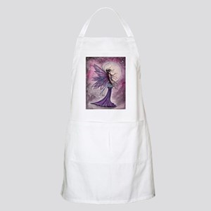 Starlit Amethyst Fairy Art Apron