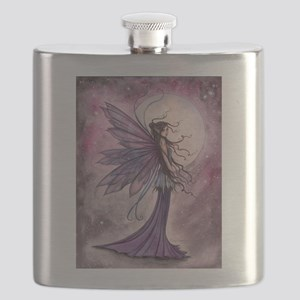 Starlit Amethyst Fairy Art Flask